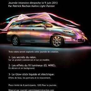 Workshop Light Painting - 9 juin 2013