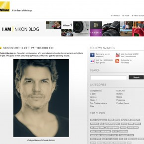 I got a great interview with NIKON.