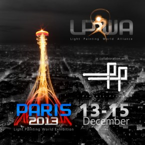 2nd International Light Painting Exhibition - Paris