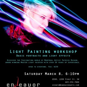 LP WORKSHOP - Calgary - March 8.