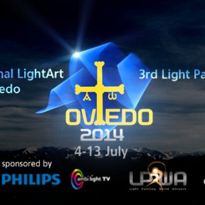 3rd World Light Painting Exhibition, Oviedo 2014