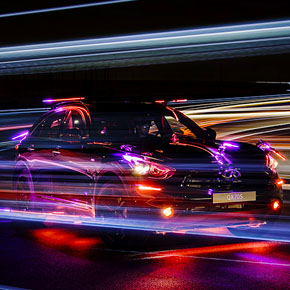 INSPIRED LIGHT in collaboration with INFINITI.